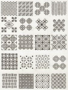 When I first got interested in blackwork I decided I wouldn't burn myself out on it. Typically, when I start a new craft I read as much as I can about it and then tackle a project that captures my ...