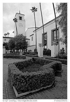gardens+at+union+Station+los+Angeles+california | Union Station, in mixed Art Deco and Mission styles. Los Angeles ...