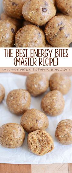 The Best Energy Bites (Master This master energy bites recipe is the only one you'll ever need! Endless add-in options, these babies are healthy and delicious – truly the best energy bites I've ever had! Protein Bites, Healthy Protein, Healthy Treats, Healthy Desserts, Healthy Recipes, Healthy Energy Bites, Paleo Energy Balls, Best Energy Foods, Protein Power Balls Recipe