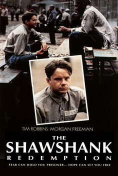 shawshank redemption poster covering hole