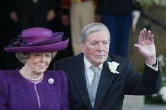 Koningin Beatrix en Prins Claus Tijdens huwelijk Willem Alexander en Maxima 02022002