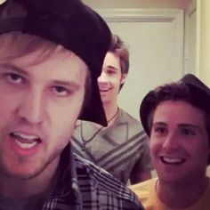 Outta My Mind - Behind the Song. Seriously the best intro ever. And I love Caleb's face here!! Lol