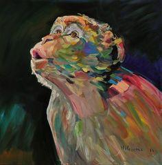 "Saatchi Online Artist: claudio malacarne; Oil, Painting ""ad alta voce"""