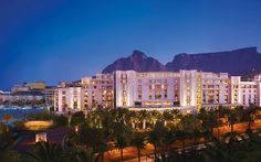 Exterior Hotel Evening View  - One&Only Cape Town, South Africa