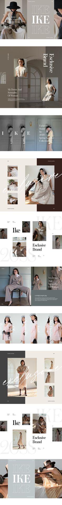 W concept – fashion editorial layout Design Poster, Book Design, Layout Design, Design Design, Stand Design, Fashion Web Design, Best Banner Design, Fashion Banner, Newspaper Design