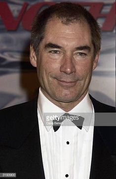 Actor Timothy Dalton arrives at the premiere of James Bond 'Die Another Day' on November 18th 2002 at The Royal Albert Hall London