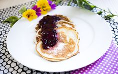 Low Carb Buttermilch Pancakes