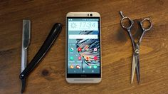 HTC has doubled down on premium design – but the is missing something that made the so brilliant. Htc One M9, Mobile News, Vr Headset, Grey And Gold, New Technology, Samsung Galaxy S6, Smartphone, Luxury, Design