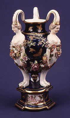 Incense burner Possibly made at Chelsea Porcelain Manufactory ca. 1770