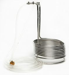 Homebrew Finds: 25' Stainless Steel Wort Chiller - $45