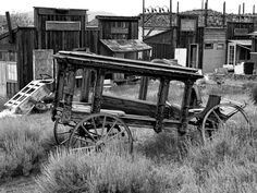 """""""Old Mining Town Hearse"""""""