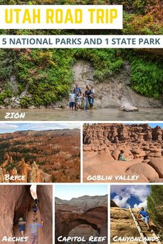 Utah Road Trip to 5 National Parks and 1 State Park. Our family had an amazing time. Utah is the perfect state to do a family road trip in!