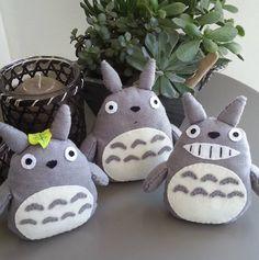 DIY Totoro en feutrine