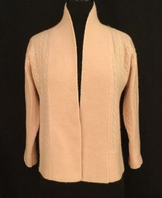 Excited to share this item from my shop: Ralph Lauren Cashmere Vintage Sweater Cable Knit Cardigan, Vintage Sweaters, Pink Sweater, Pale Pink, Cashmere, Ralph Lauren, Etsy Shop, Elegant, Long Sleeve
