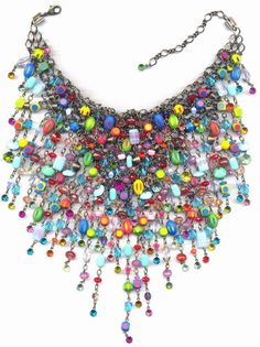 necklace choker-collier African Thrill multi