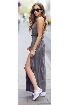 dress + converse Tägliche Outfits 03b49ab2d