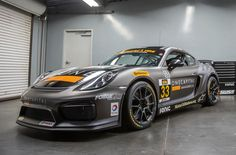 2015 IMSA ST class champions CJ Wilson Racing have moved up to the GS class, for 2016. They'll be one of the favorites to win this upcoming Friday, at Daytona, with their Porsche Cayman GT4 Clubsport on Continental Tires and Forgeline 1pc forged monoblock GS1R wheels finished in Graphite! See more at: http://www.forgeline.com/customer_gallery_view.php?cvk=1568 ‪#‎Forgeline‬ ‪#‎forged‬ ‪#‎monoblock‬ ‪#‎GS1R‬ ‪#‎notjustanotherprettywheel‬ ‪#‎madeinUSA‬ #Porsche #Cayman #GT4 #Clubsport #IMSA