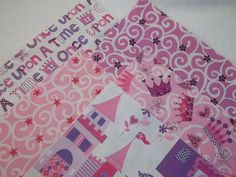 Princess Pink and Purple Rag Quilt Kit, Fun, Fast and Easy to Make, Personalized. $34.99, via Etsy.
