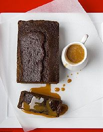 Ginger Spiced Pudding by Mary Berry British Baking Show Recipes, Baking Recipes, Cake Recipes, Dessert Recipes, Pudding Recipes, Mousse, Ginger Loaf, Flan, Toffee Sauce