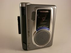 Panasonic RQ-L30 Handheld Portable Cassette Voice Activated Recorder Walkman VAS #Panasonic