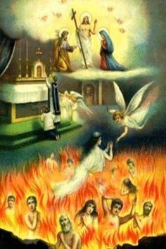 Poor souls in purgatory