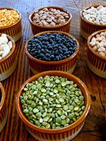 Beans are a terrific pro-health and anti-aging food because of their significant antioxidant properties. Studies have shown that beans protect against heart disease, diabetes and even certain cancers. Consuming just three cups of cooked beans a week will have significant health benefits for your family.  http://www.healthykidscompany.com/blog/mighty-beans-to-the-rescue-why-adding-beans-to-your-familys-diet-is-so-impo