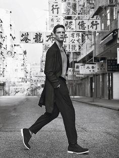 Campaña Emporio Armani inspirada en China