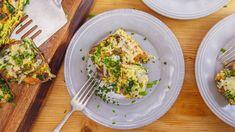 Rachael's Spinach, Bacon and Mushroom Frittata