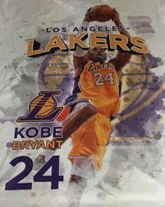 Kobe Bryant Black Mamba Los Angeles Lakers XXL Short Sleeve Tee T-Shirt 2XL A1 #kobebryant #LosAngelesLakers