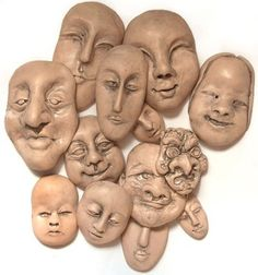 There are commercial molds available for making faces for dolls or jewelry, but those designs were created by someone else, and while you can create items for your own use without violating copyrig…