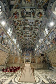 La Capilla Sixtina, una de las joyas del Renacimiento y visitada cada día por miles de personas, estrena un nuevo sistema de climatización e iluminación.