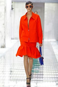 Prada Spring 2011 Ready-to-Wear Collection Slideshow on Style.com