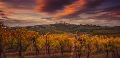 San Gimignano Panorama by Alexander Hill (Tuscany, Italy)