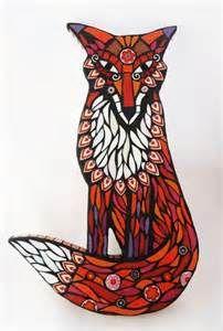 mosaic fox - - Yahoo Image Search Results