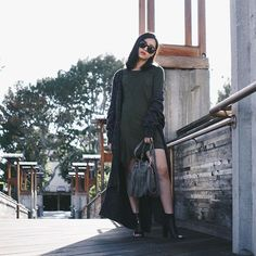 Michelle (@runwayonthego) Off the duty look, happy weekend everyone!  #ootd #lotd #wiw #fashionblogger
