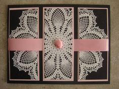 Large Doily by gl1253 - Cards and Paper Crafts at Splitcoaststampers