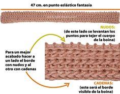 boina tejiendoperu.com Knitting Stitches, Crocs, Straw Bag, Knit Crochet, Lily, Beanies, Fashion, Moon Art, Crochet Hearts