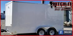 7 X 14 LARK ENCLOSED TRAILER Hitch It Trailers Sales, Parts, Service & Truck Accessories 5866 S. 107th E. Avenue Tulsa, Oklahoma 74146 918-286-7900  #HitchIt #TrailerSales #TrailerService #TrailerParts #TruckAccessories #YourTrailerShop #Tulsa #Oklahoma Trailer Sales Trailer parts Trailer service repairs Truck accessories ONLY Oklahoma United Manufacturing Dealer NE Oklahoma Continental Cargo, Lark United and Tiger Trailers Dealer.  We sell  Enclosed Cargo Trailers & Race Trailers Landscape…