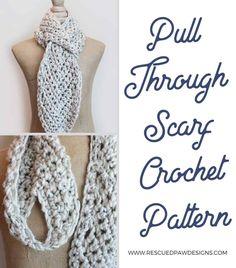 Crochet Chevron Scarf Pattern