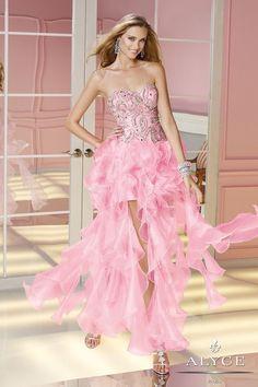 Alyce Paris - 6180 Dress in Pink