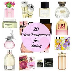 20 Alluring NEW Fragrances for Spring