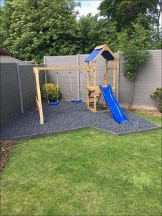 Kids Backyard Playground, Backyard Swing Sets, Backyard Playset, Diy Swing, Backyard For Kids, Backyard Projects, Backyard Patio, Backyard Landscaping, Playground Ideas