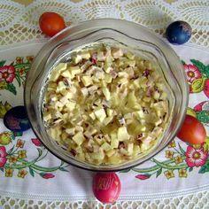 Húsvéti sonkasaláta Recept képpel - Mindmegette.hu - Receptek Oatmeal, Salads, Paleo, Baking, Breakfast, Food, Funny, Diet, Easter Activities