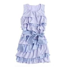 Twisted ruffle dress from J. Crew. I could see my daughter's crowd in this. Ruffles on me scream out for help!!!! ha.