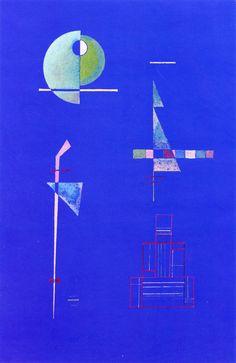Wassily Kandinsky - 'Quiet Importance' - (1929)
