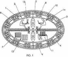 Tesla's anti-gravity spacecraft.