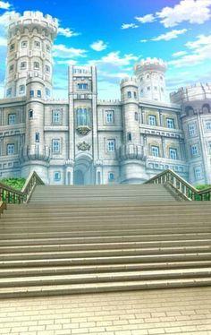 New Fantasy Art Castle Building Ideas Fantasy City, New Fantasy, Fantasy Castle, Fantasy Places, Episode Interactive Backgrounds, Episode Backgrounds, Scenery Background, Castle Background, Casa Anime