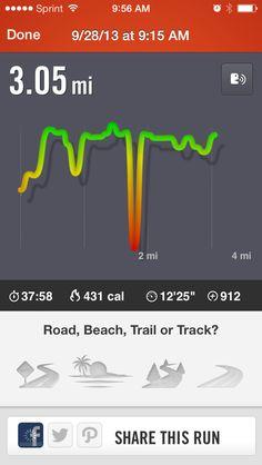 9/28/13: 3 mile run