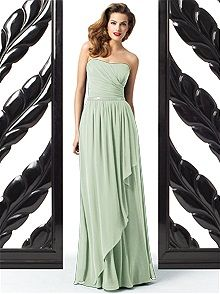 Dessy Collection 2868 #green #bridesmaid #dress