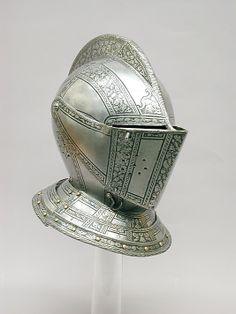 Armet; 1575; Italy; MET